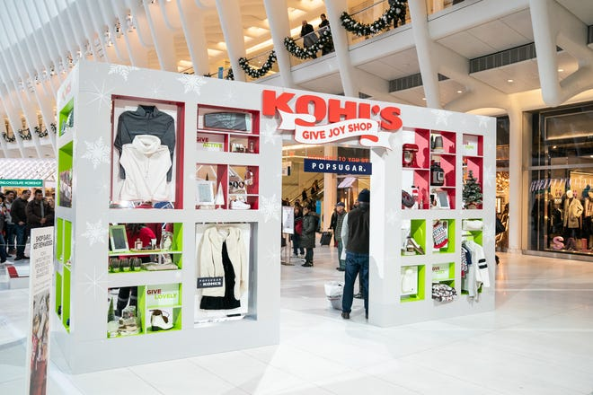 Kohl's 2018 holiday pop-up was in the Oculus transportation hub in the World Trade Center in Manhattan.