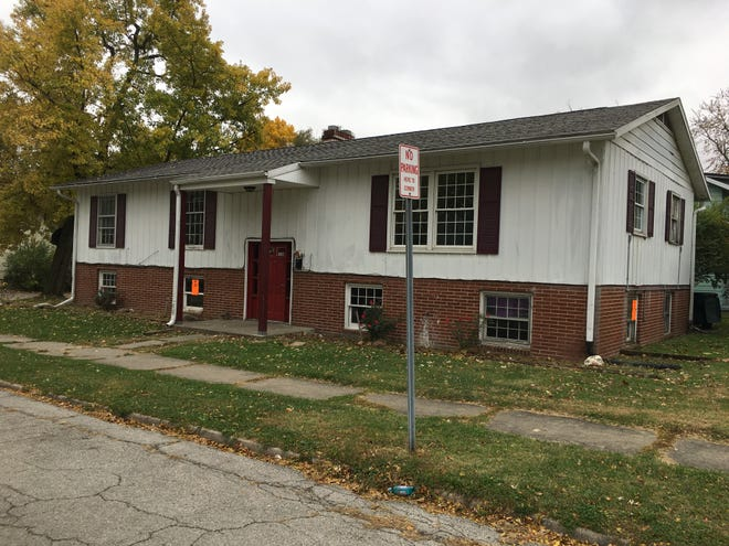 Chi Omega sorority at Ball State University has its eyes on this house at 2101 W. Jackson St.