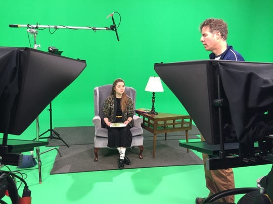 Ball State University theater students read books aloud on video in partnership with the Dolly Parton Imagination Library program offered locally through the United Way.