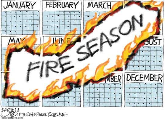 Fire season.