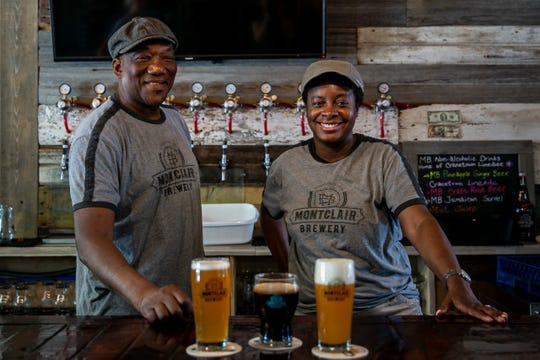 Montclair Brewery, Montclair's first and only microbrewery, is owned by Denise and Leo Sawadogo.