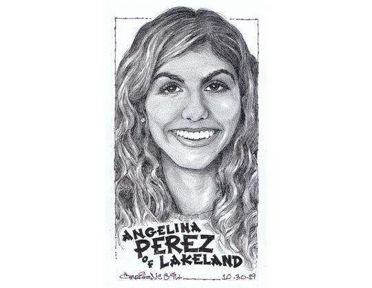 Angelina Perez, Lakeland cross-country