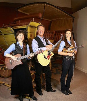 Award-winning television show host Dan Miller, his daughter Hannah, and Wendy Corr are bringing true cowboy music to Las Cruces Nov. 12 at the Rio Grande Theatre.
