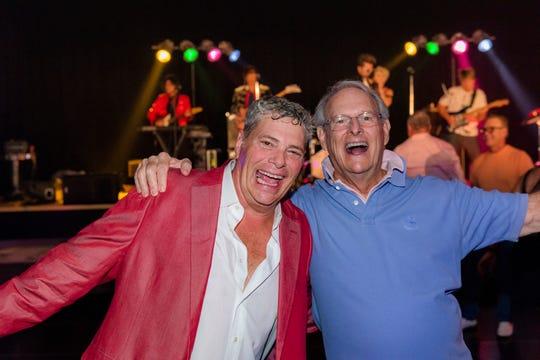 Larry Falconio and Rob Wright enjoyed the festivities.
