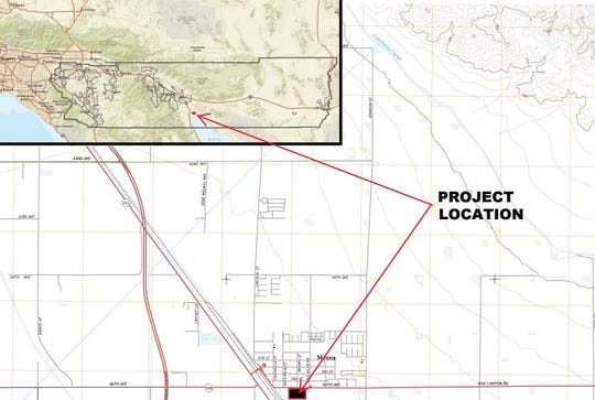 The Mecca Regional Sports Park would be north of the Salton Sea on 6.7 acres.