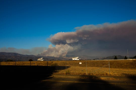 As of Sunday, more than 3,000 firefighters were battling the explosive Kincade Fire, and a broad swath of Sonoma County, from mountain to coast, was under evacuation orders.