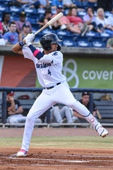 Pensacola Blue Wahoos player Royce Lewis fields a ground ball in an undated photo. Lewis recently finished up a strong campaign in the Arizona League.