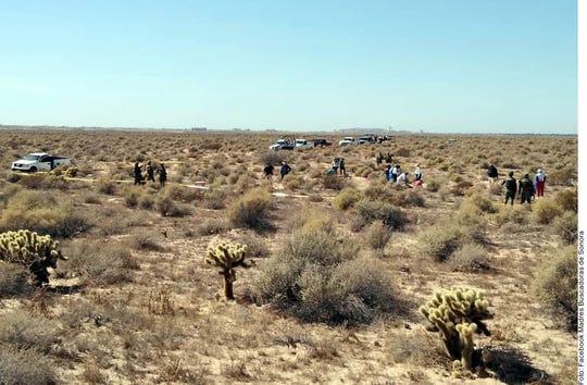 Los cuerpos fueron hallados un predio del Municipio de Puerto Peñasco.