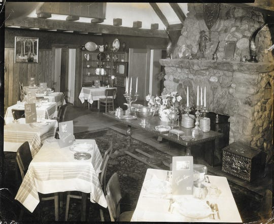 One of the dining areas at Guidetti's in Wingdale.
