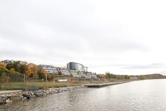 The DeLaval property, south of Shadows on the Hudson, and west of the Hudson Pointe condominiums along the Hudson River on October 29, 2019.