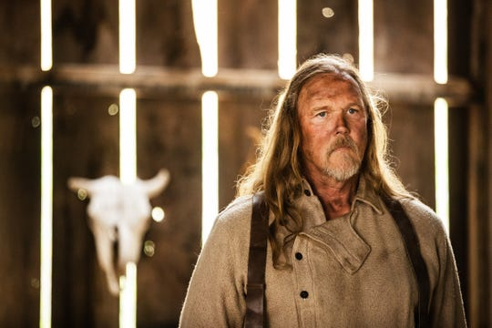 "Country singer Trace Adkins has a role in the new film ""Badland,"" starring Kevin Makely."