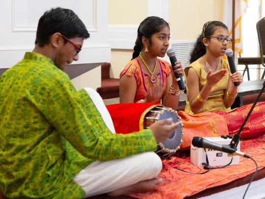Hindu performers are shown during a past Interfaith Music Festival. This year's event is scheduled for Nov. 3 in Poughkeepsie.