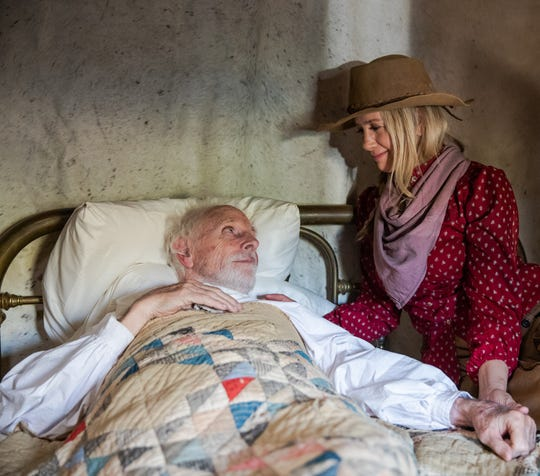 "Bruce Dern and Mira Sorvino are in the new film ""Badland,"" starring Kevin Makely."