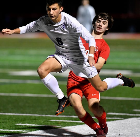 Northern York at Susquehannock for District 3 Class 3-A boys' soccer semifinal, Monday, October 28, 2019.