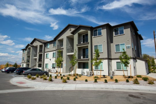 The new Steamboat by Vintage, a 360-unit affordable housing complex in South Reno now leasing to income-qualified families.
