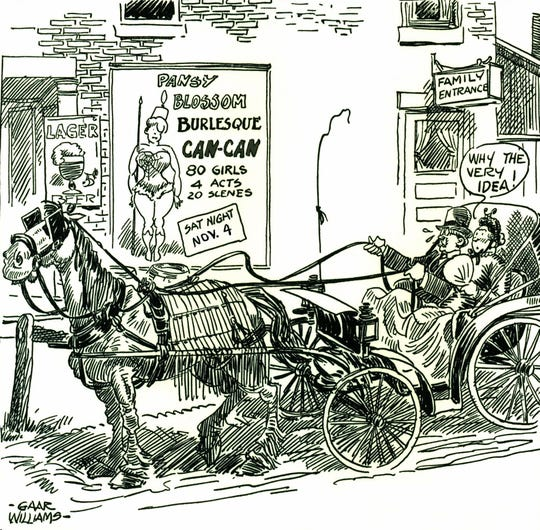 Wayne County-born Gaar Williams' nationally syndicated cartoons were often a fond remembrance of his early years in Richmond.
