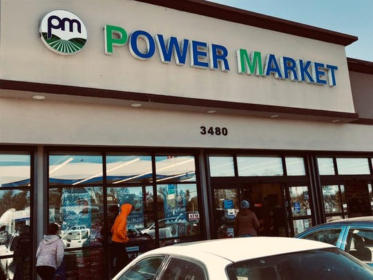 A Power Market store in Anderson remains open and running on PG&E power in spite of the planned outage in other parts of town in this October 29, 2019 picture.