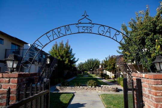 Canal Farm Gardens is a 59-unit apartment complex in Los Banos. Until two months ago, renters paid $750 per month for a two-bedroom apartment, they now pay $850.  Renovated units will rent for nearly $1300 per month, pricing out many of the current tenants.
