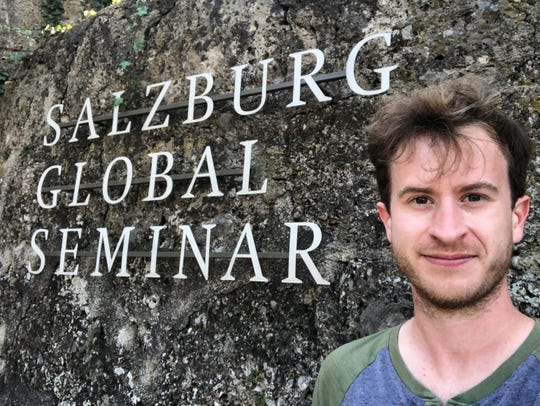 Sioux Falls artist Zach DeBoer attended the Salzburg Global Seminar's Young Culture Innovators Forum in Salzburg, Austria.