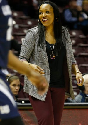 """""""We are going to win this game,"""" first-year head coach Amaka Agugua-Hamilton told the struggling Lady Bears on Thursday night. She was right."""
