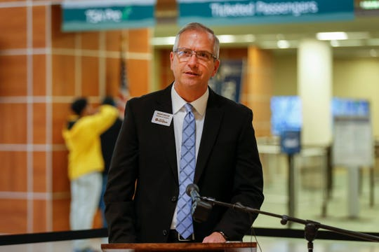 Brian Weiler, director of aviation at the Springfield-Branson National Airport, talks about the Missouri Real ID on Tuesday, Oct. 29, 2019.