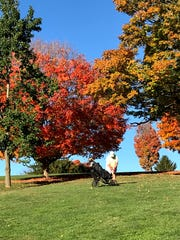 Vibrant colors at Gypsy Hill Golf Course on Oct. 27, 2019. Photo submitted by Jeff Overholtzer.