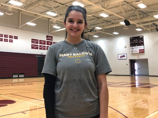Stuarts Draft senior Emily Link is headed to  Mary Baldwin University for volleyball next year.