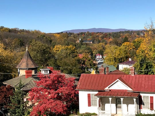 The view from Mary Baldwin University on Oct. 28, 2019. Photo submitted by Jeff Overholtzer.