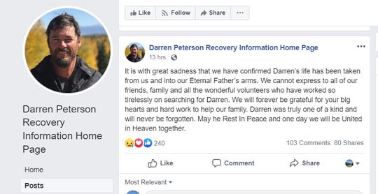 A second man aboard a boat that sank off Alligator Point last week is dead, according to his family's Facebook page.