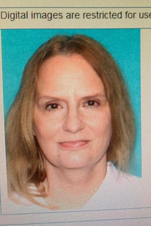 Michelle R. Majerus, 70, was noticed missing at about 3:30 p.m. near Oak Street. She was last seen wearing a white shirt and tan baseball cap.