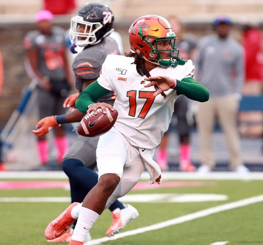 FAMU redshirt freshman RaSean McKay may once again start at quarterback this weekend versus Delaware State. During his first-ever start against Morgan State,  25 of 35 for 246 yards with a touchdown.