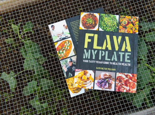 """Flava My Plate"" is a vegan cookbook by Dawn Hilton Williams"