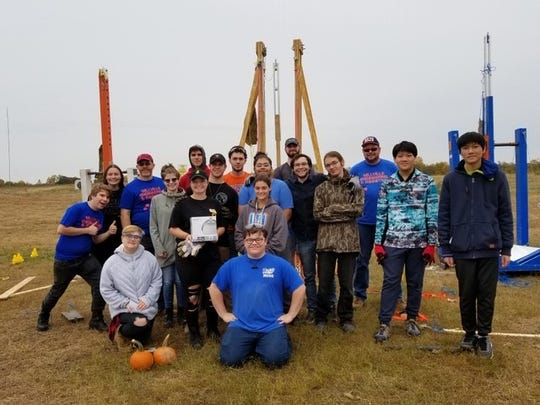 Three teams associated with Millville High School competed successfully at Rowan University's Pumpkin Chunkin' contest.