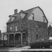 An old (undated) photo of the John Green House, 23 Main Street, Nyack, NY 10960. It is celebrating its two hundredth birthday this year on November 16 at the Nyack Boat Club. See johngreenhouse.org.