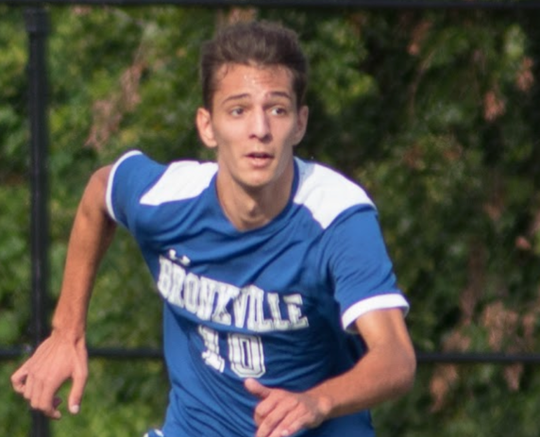 Bronxville senior Luke Doukas has been the go-to scorer all season for Bronxville, which is playing a Class B semifinal on Wednesday against Pleasantville.