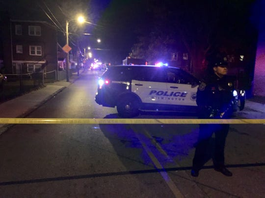 Police respond to a shooting on Monday, Oct. 28, 2019 where a teen was shot dead in Wilmington's Eastlake community.