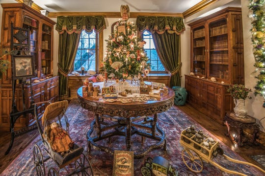 This new museum exhibition unwraps the history of the American Christmas tree. Shown here is a Victorian tree ca. 1850s.