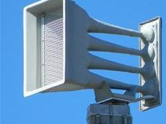 Several Wichita Falls outdoor warning sirens were set off without cause due to condensation causing a keypad malfunction, officials said.