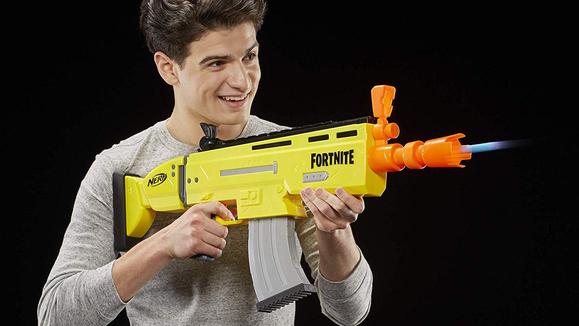 Amazon Top 100 Toys 2019: NERF Fortnite AR-L Elite Dart Blaster