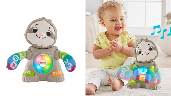 Amazon Top 100 Toys 2019: Fisher-Price Linkimals Smooth Moves Sloth