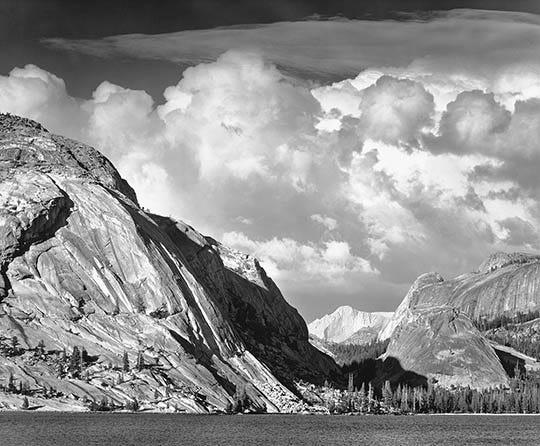 Cathedral Peak and Lake, c. 1938