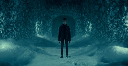 """Abra Stone (Kyliegh Curran), a girl with psychic abilities, has a hair-raising journey that leads to the snowy maze of the Overlook Hotel in """"Doctor Sleep."""""""