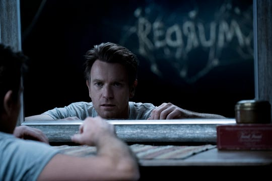 "As an adult, Dan Torrance (Ewan McGregor) is still haunted by the demons of his childhood in ""The Shining"" sequel ""Doctor Sleep."""