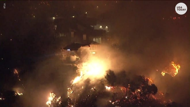 State of emergency: California firefighters work to contain massive wildfires