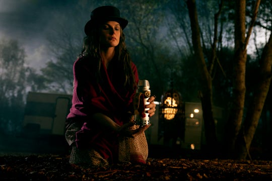 """Rose the Hat (Rebecca Ferguson) consumes the psychic essences of children to stay immortal in """"Doctor Sleep."""""""