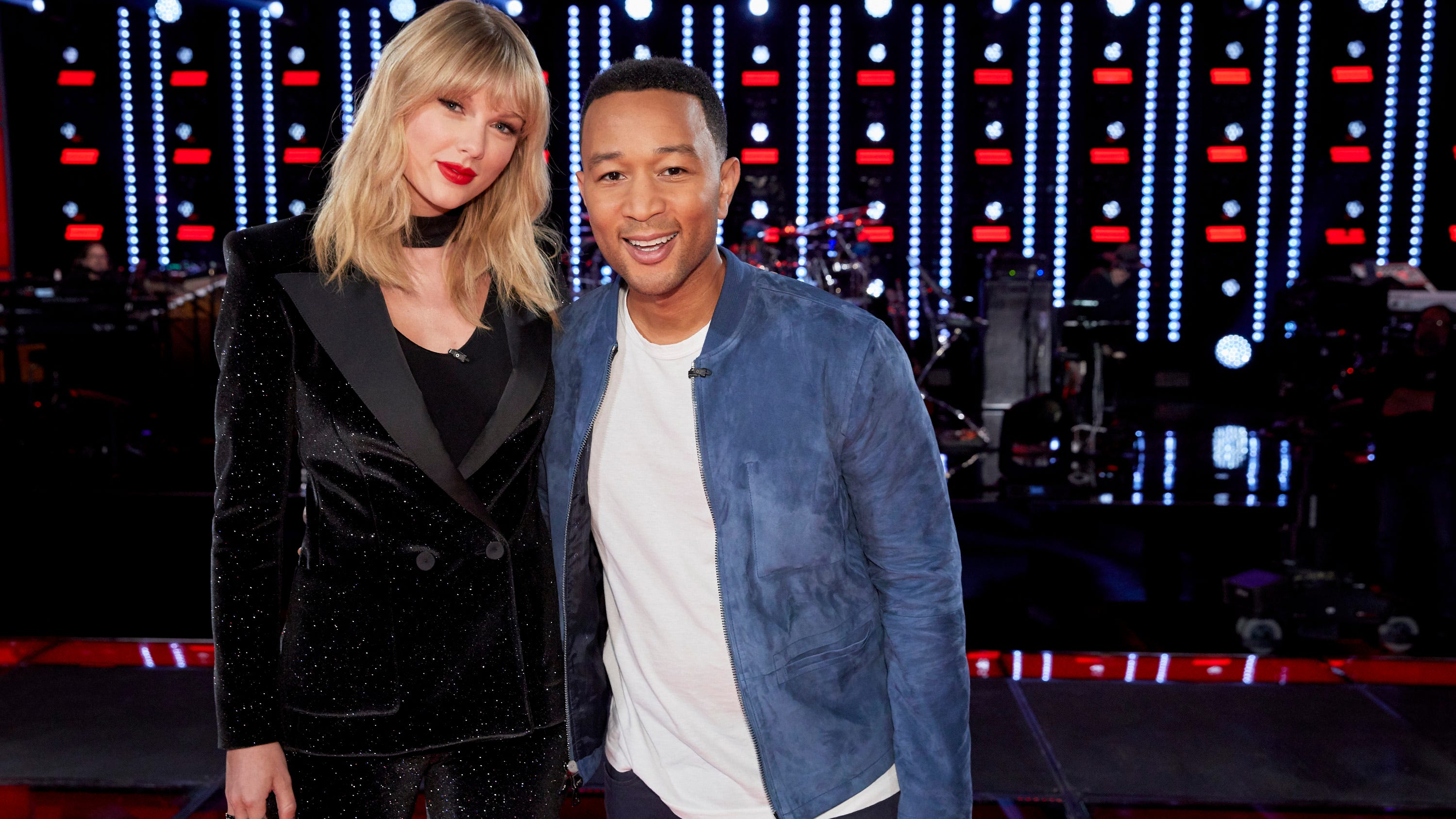 The Voice Taylor Swift As Mega Mentor Steals The Show