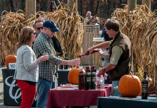 The Grape Adventure Wine & Food Festival showcases New Jersey wines.