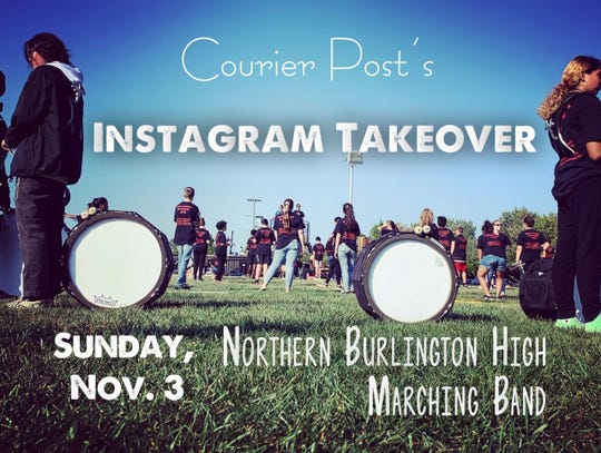 Northern Burlington County High's Marching Band won the Courier Post's Instagram Takeover. Now, it's time for them to give us a look at band life from their perspective.