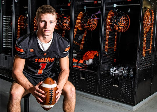 Waverly football's running back and defensive back Payton Shoemaker was recently selected to play in one of the two OHSFCA North-South Classic Games.