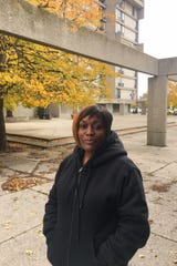 Elmwood Club Plaza resident Juanita Taylor Matthews on Tuesday, October 28, 2019.